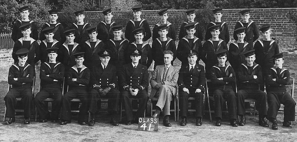 March 1943, Brighton. Stan is in 2nd row, 5th from left